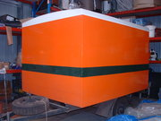 Luggage trailer custom made