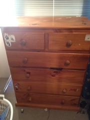 Wooden Chested Draws