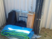 for sale 14feet vuly tramponline saftey net/tent $660.00