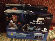 BRAND NEW & SEALED PS4 SONY PLAYSTATION 4 500GB BLACK CONSOLE + 9 GAME
