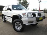 1998 Nissan 1998 Nissan Patrol GU ST (4x4) White Manual 5sp M