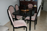 Dining suit with 6 chairs   .....Office Desk and filing cabinet